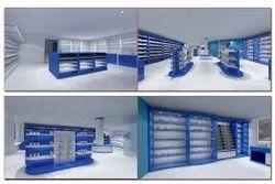 Medical Store Display Racks