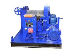 10 Ton Electric Wire Rope Winch Machine