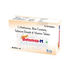 L Methionine, Beta-Carotene Selenium Dioxide & Vitamins Tablets