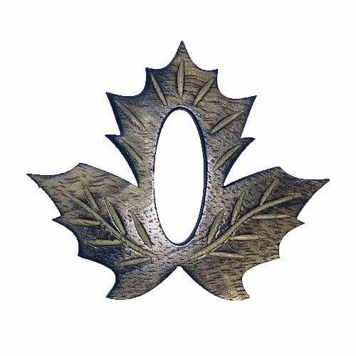 Wooden Leaf Shawl Pin
