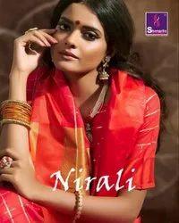Shangrila Designer Nirali Weaving Saree