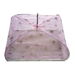 Pink Polyester Baby Mosquito Net