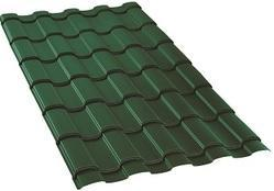 Geo Green Matte Finish Ultima Espana Roofing Sheet
