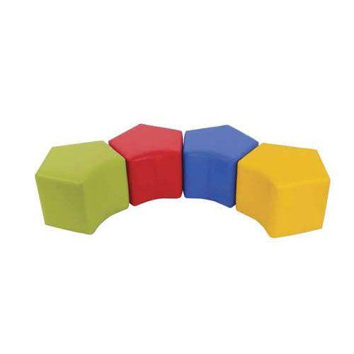Pleasing Modular Leather Ottoman Ncnpc Chair Design For Home Ncnpcorg