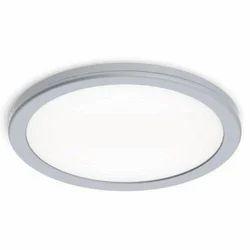 White LED Ceiling Lights, Shape: Round, 12 W