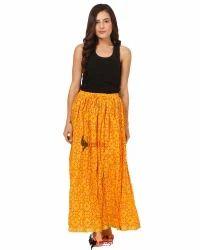 Saadgi Ethnic Cotton Skirt