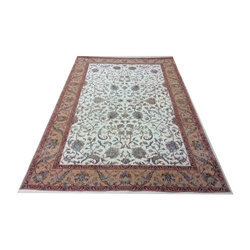 Multicolor Majestic Persian Hand Knotted Rug