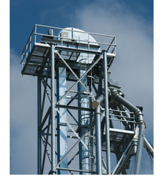 Bucket Type Elevator with Supporting Tower