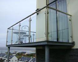 Bar Modern Steel Railing Balcony