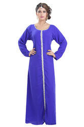Embroidered Simple Halloween Party Wear Costume For Ladies 6451
