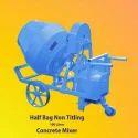 Automatic Mild Steel Three Phase Non Tilting Concrete Mixer, Power: 1.5 Hp