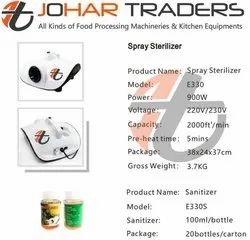 Sanitizer Sprayer Machine