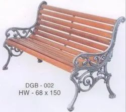 DGB 002 Cast Iron Garden Bench