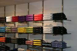 Retail Garment Store Wall Display