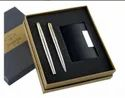 Pen and Visiting Card Holder Gift Set