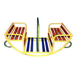 Four Seater Boat Shape Sea-saw