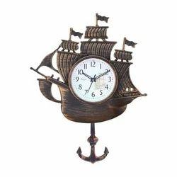 Boat Design Pendulum Clock