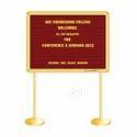 Brass Lobby Board