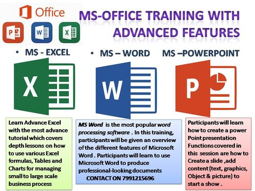 Advanced Microsoft Office Training In Lucknow in Gomti Nagar