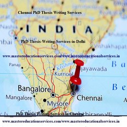 Master's Thesis Writing Services in Chennai