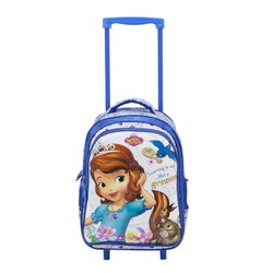 Polyester Kids Blue Backpack School Bag