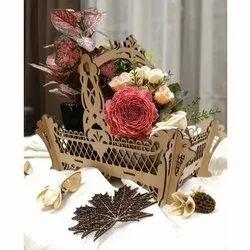 Mdf Home Decorative Basket