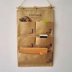 Jute Pocket Folder