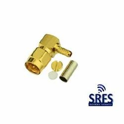 SMA Male RA for RG 316 Connector