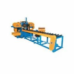 Pipe And Neck Cutting Bandsaw Machine