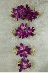 Orchid Flowers Hair Accessories
