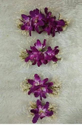 Orchid Flowers Hair Accessories Girls Hair Accessories Hair Decorations À¤¬ À¤² À¤• À¤¸ À¤® À¤¨ Usha Bentex Jewellery Nagpur Id 20777460733