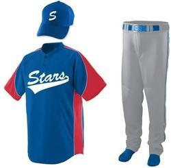 Baseball customised uniform