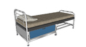 Single Metal Bed With Under Storage