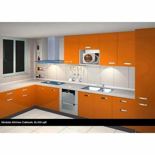 Designer Modular Kitchen 8 Square Modular Kitchens Contemporary