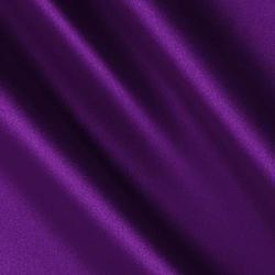 Plain Purple Satin Fabric