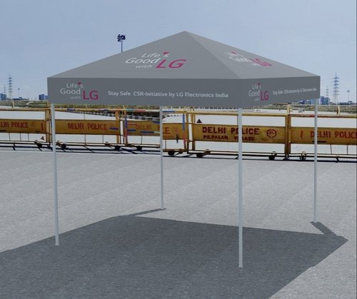 Promotional Tent, Size: 10 x 10 Ft And 10 x 20 Ft