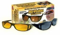 HD Vision Goggles Unisex Wrap Around Day Night Sun Glasses UV Protected