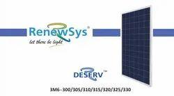 72 Poly Crystalline Renewsys Solar Panel, 300-300 Wp
