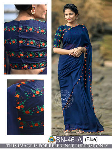 5844a2de7d64e3 Shree Krishna Fashion Silk Designer Ethnic Wear Saree