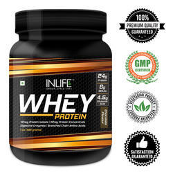 INLIFE Concentrate Whey Protein Powder, Packaging Type: Bottle, Packaging Size: 400 Grams