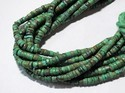 Natural REAL Untreated Tibetan Turquoise Heishi Stone beads