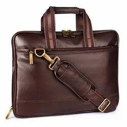 Vegan Leather Multi Function Executive Laptop Bag