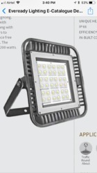 LED 100W FLOOD LIGHT EVEREADY