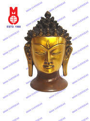 Lord Buddha Head Statue