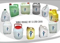 Plastic Round Oil Cans
