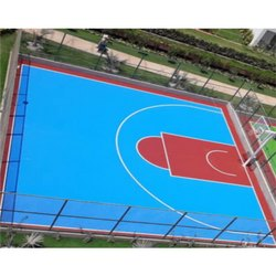 Acrylic Basket Ball Outdoor Court