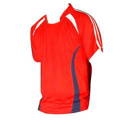 Men Cotton And Polyester Sports T-Shirts