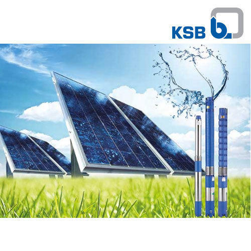 KSB Solar Powered AC Submersible Pumps, 0 75 Kw - 11 Kw | ID