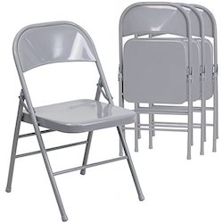 Beau Metal Folding Chair