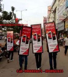 Human Walking Billboard / Walking Billboard / Human Banner / Backpack Billboards